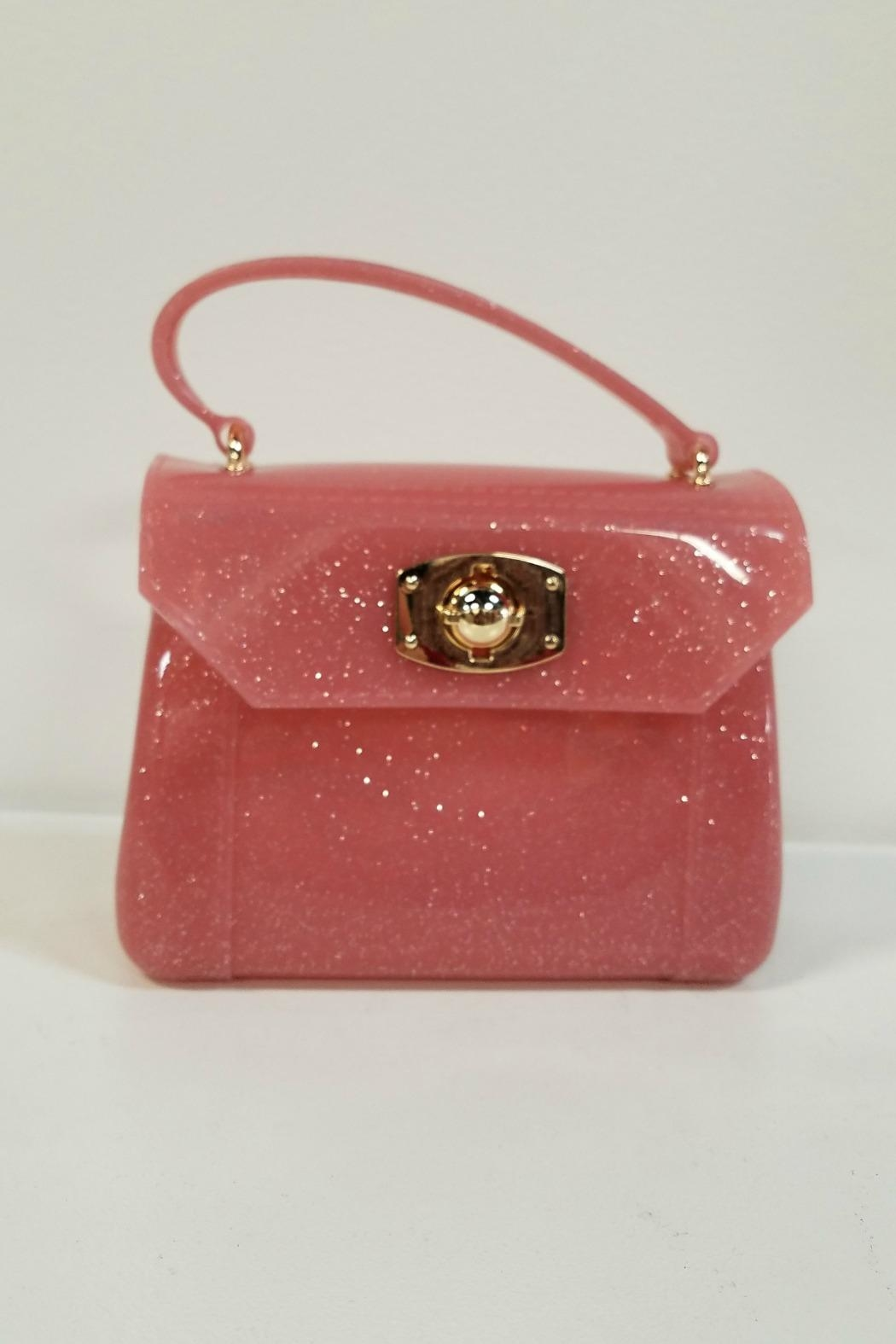 Amiana Glitter Jelly Purse Front Cropped Image