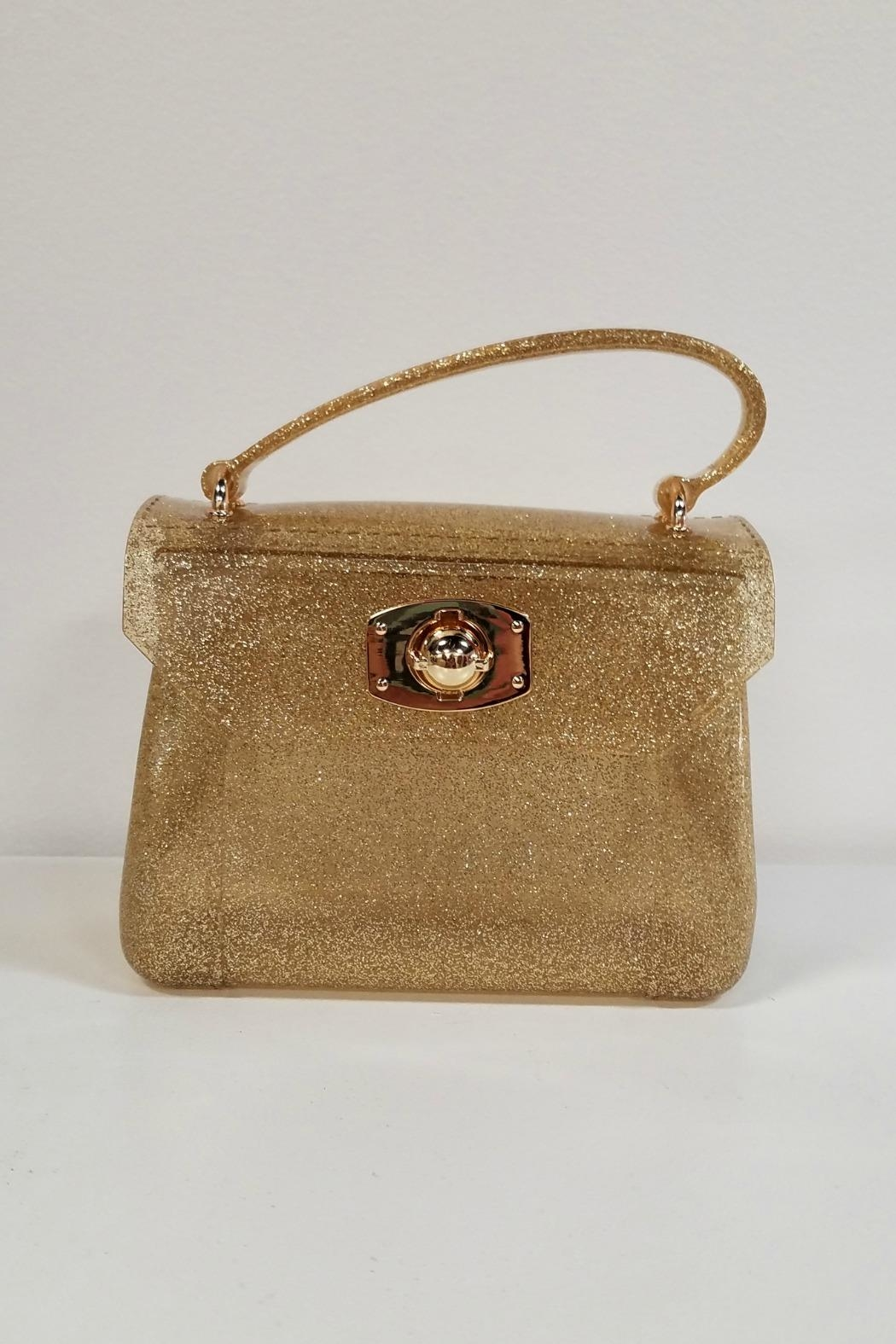Amiana Glitter Jelly Purse - Front Cropped Image