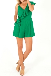 KUT Amiee Asymetrical Romper - Product Mini Image