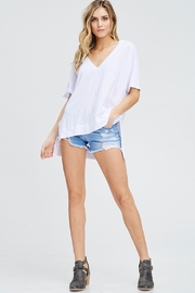 Maronie  Amiee V-Neck Top - Front cropped