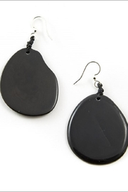 Organic Tagua Jewelry Amiga Organic Earrings - Product Mini Image