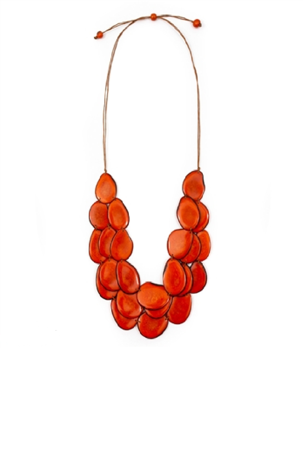 Organic Tagua Jewelry Amigas Organic Necklace - Main Image