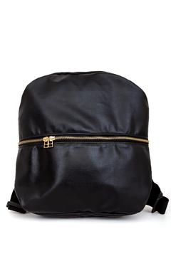 Shoptiques Product: Synthetic Leather Backpack