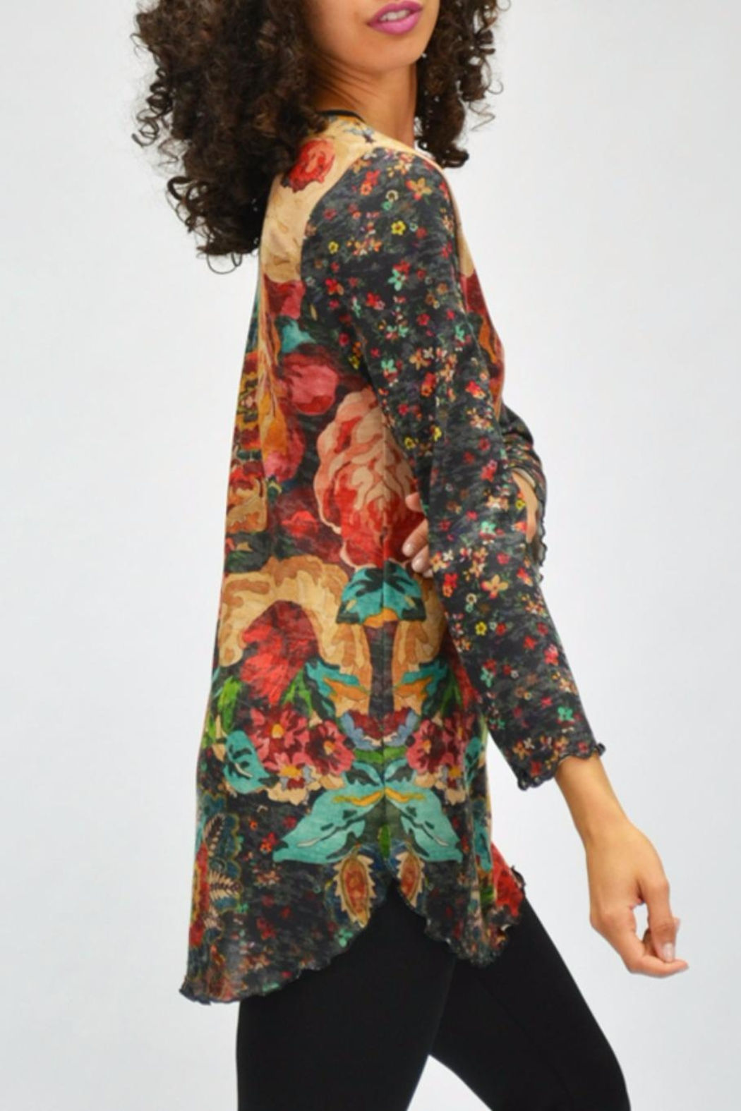 AMMA Designs Floral Tunic - Side Cropped Image