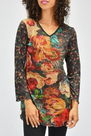 AMMA Designs Floral Tunic - Front cropped