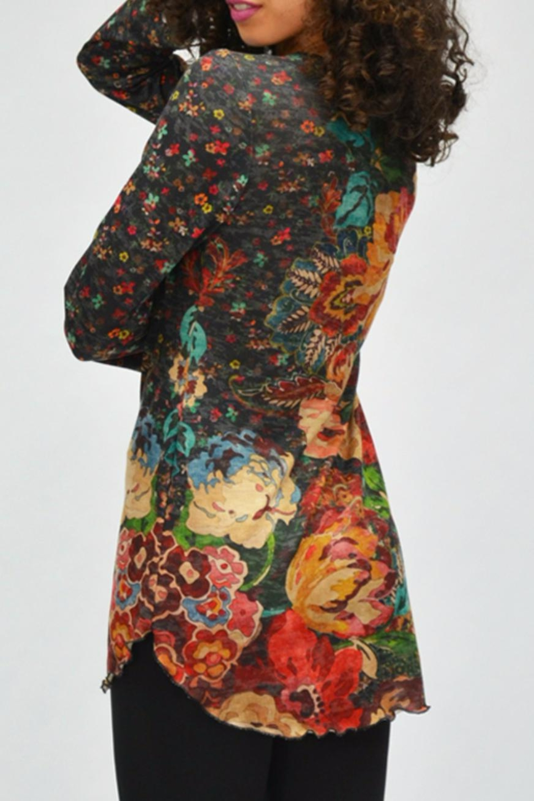 AMMA Designs Floral Tunic - Front Full Image