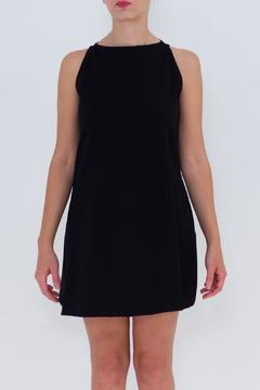 Shoptiques Product: Draped Crew Neck Dress