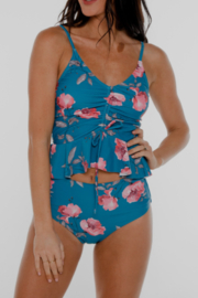 Coral Reef Swimwear  Among the Waves Curvy Swim Top - Front cropped