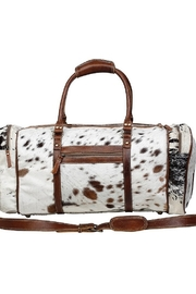 Myra Bags Amore Cowhide  DUFFLE BAG - Product Mini Image