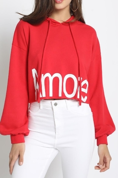 Shoptiques Product: Amore Crop Hoody