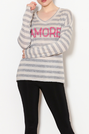Brand Bazaar Amore Stripe Top - Product Mini Image
