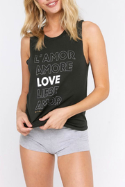 SPIRITUAL GANGSTER Amour Muscle Tank - Product Mini Image