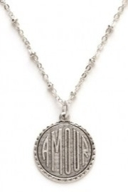 Amano Trading Amour Sterling Silver Necklace - Product Mini Image