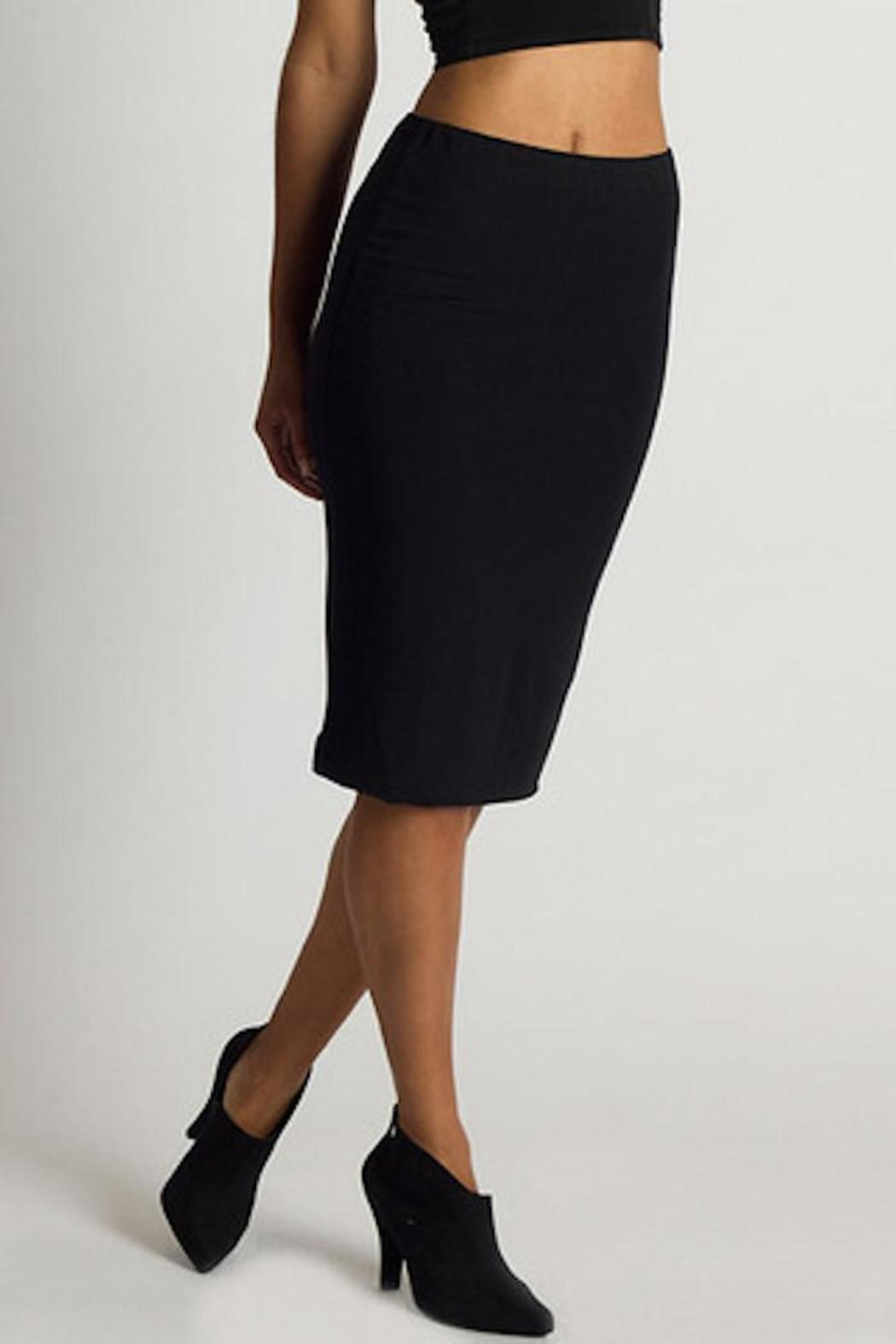 amour vert yuma pencil skirt from new orleans by vine