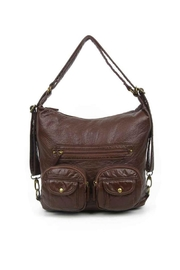 Ampere Creations Convertible Vegan Backpack - Front cropped