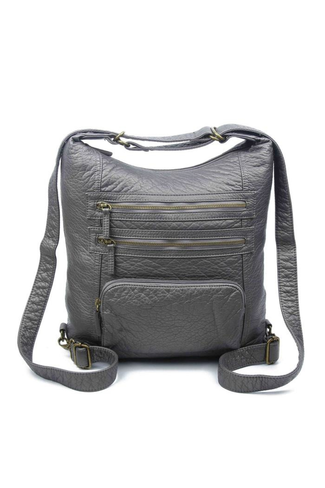 Ampere Creations Convertible Vegan Backpack - Side Cropped Image