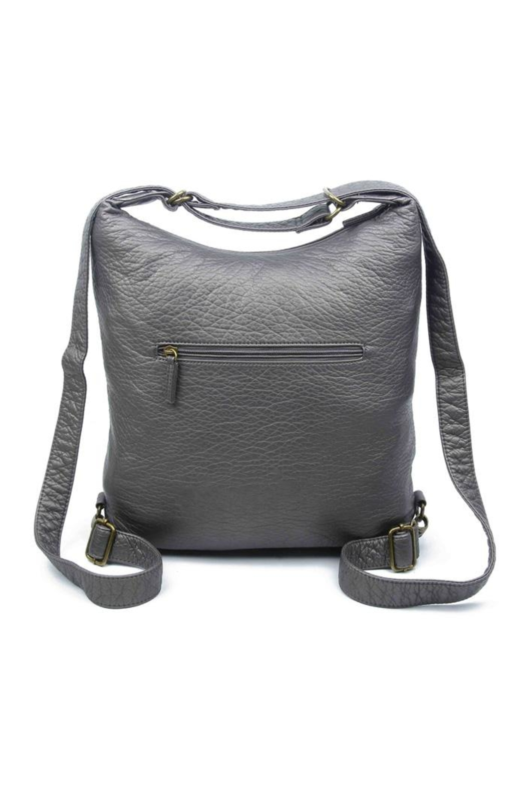 Ampere Creations Convertible Vegan Backpack - Front Full Image
