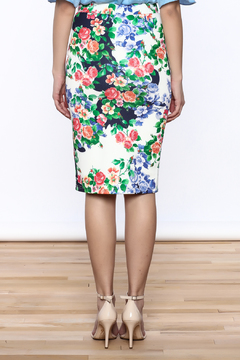 Ampersand As Apostrophe Floral Skirt - Alternate List Image