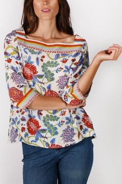 Rasa Amritsa Floral Top - Alternate List Image