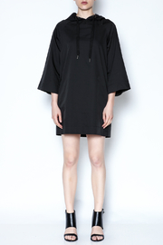 AMT Sporty Black Dress - Front full body