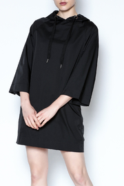 AMT Sporty Black Dress - Front cropped