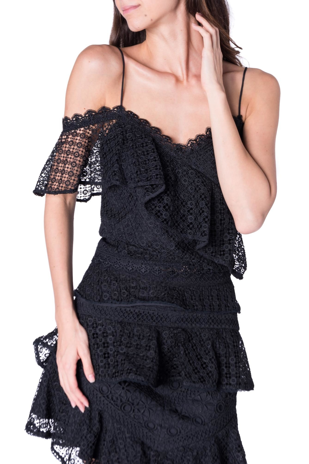 Amur Lace Skirt Blouse - Front Cropped Image