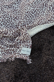 the beach people Amur Leopard Travel Towel - Side cropped