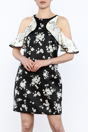 Amur Satin Floral Dress - Product Mini Image