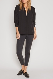 AMUSE SOCIETY Bea Woven Top - Front cropped