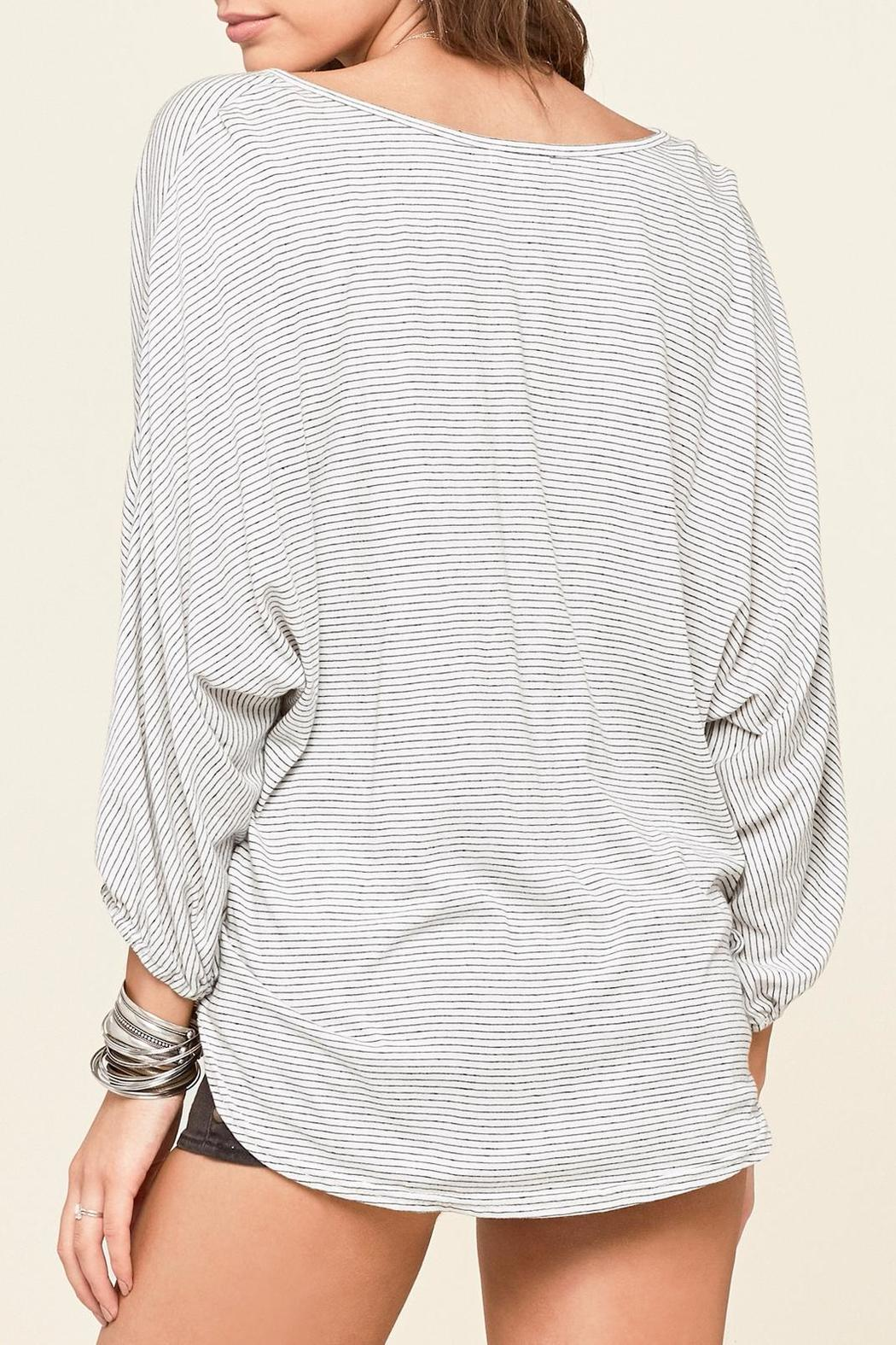 AMUSE SOCIETY Bedford Knit Top - Front Full Image