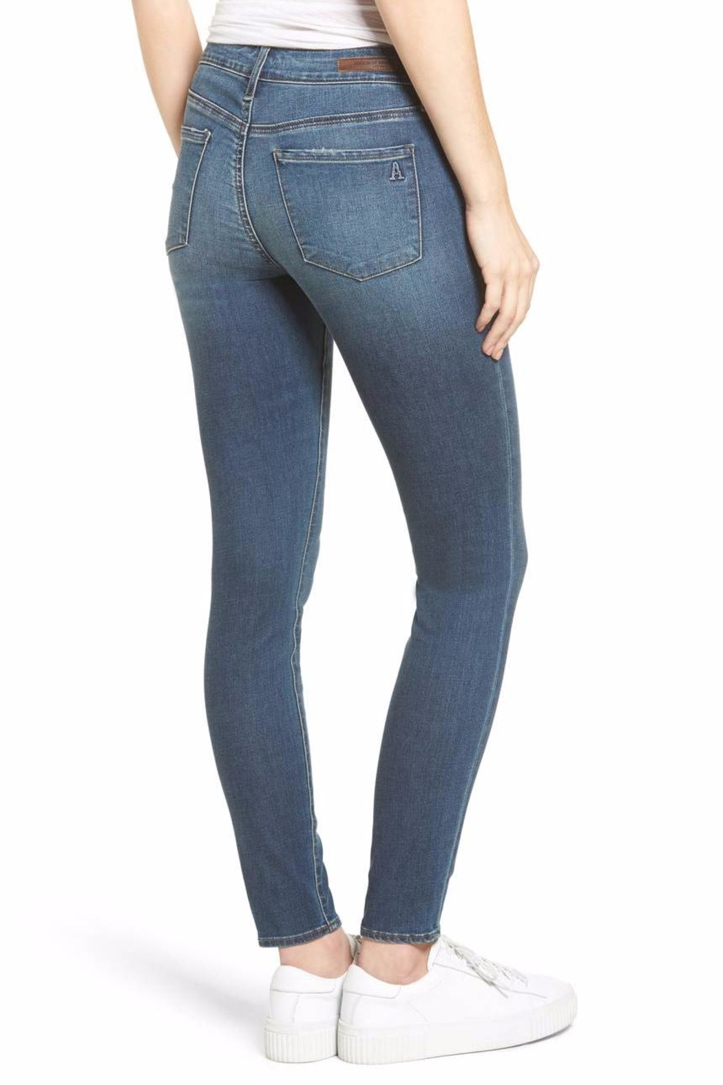 AMUSE SOCIETY Britney Skinny Jeans - Front Full Image
