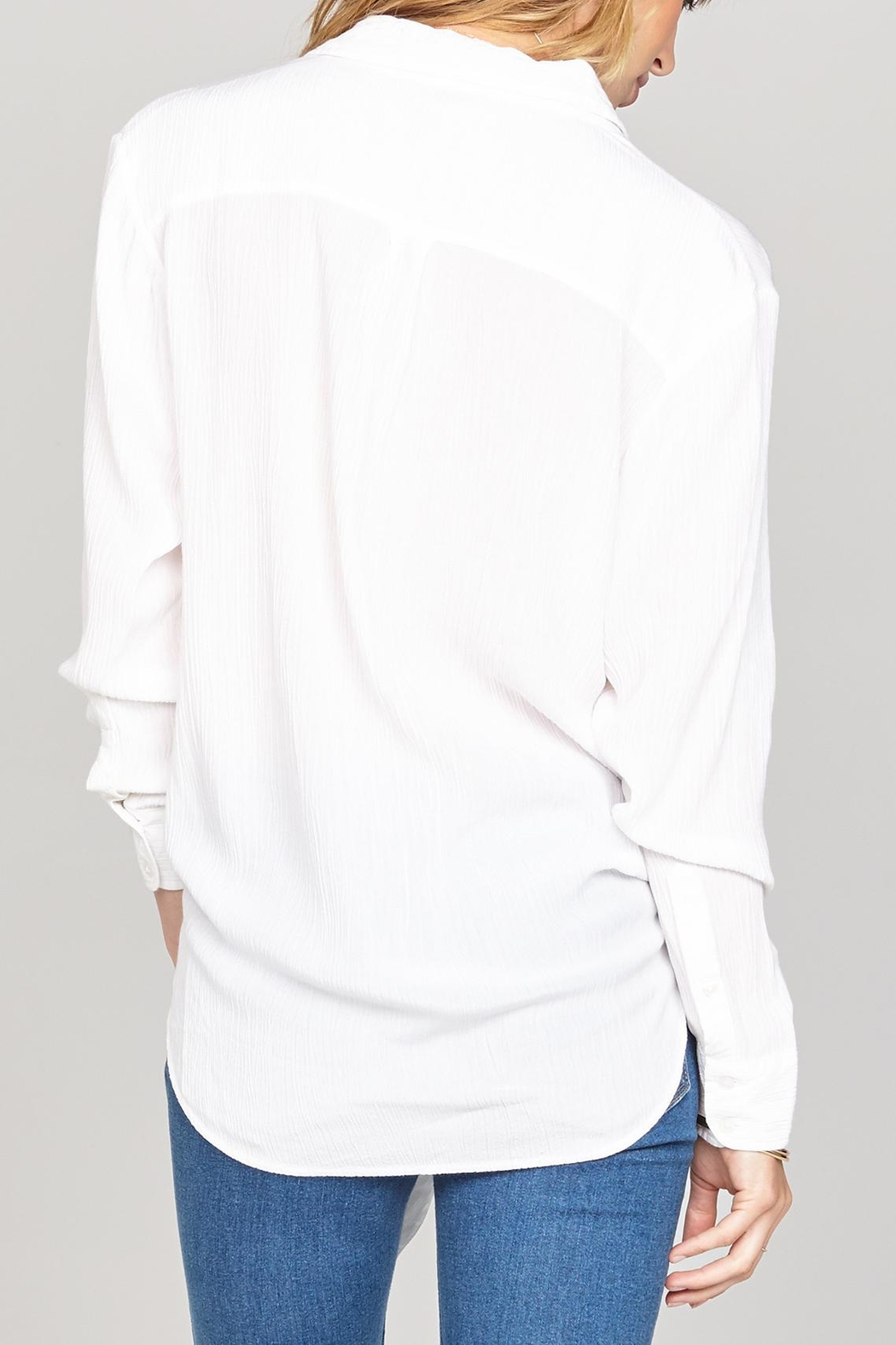 AMUSE SOCIETY C'est Woven Top - Front Full Image
