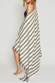 AMUSE SOCIETY Cabana Striped Blanket - Front cropped