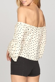 AMUSE SOCIETY Chapelle Off Shoulder - Front full body
