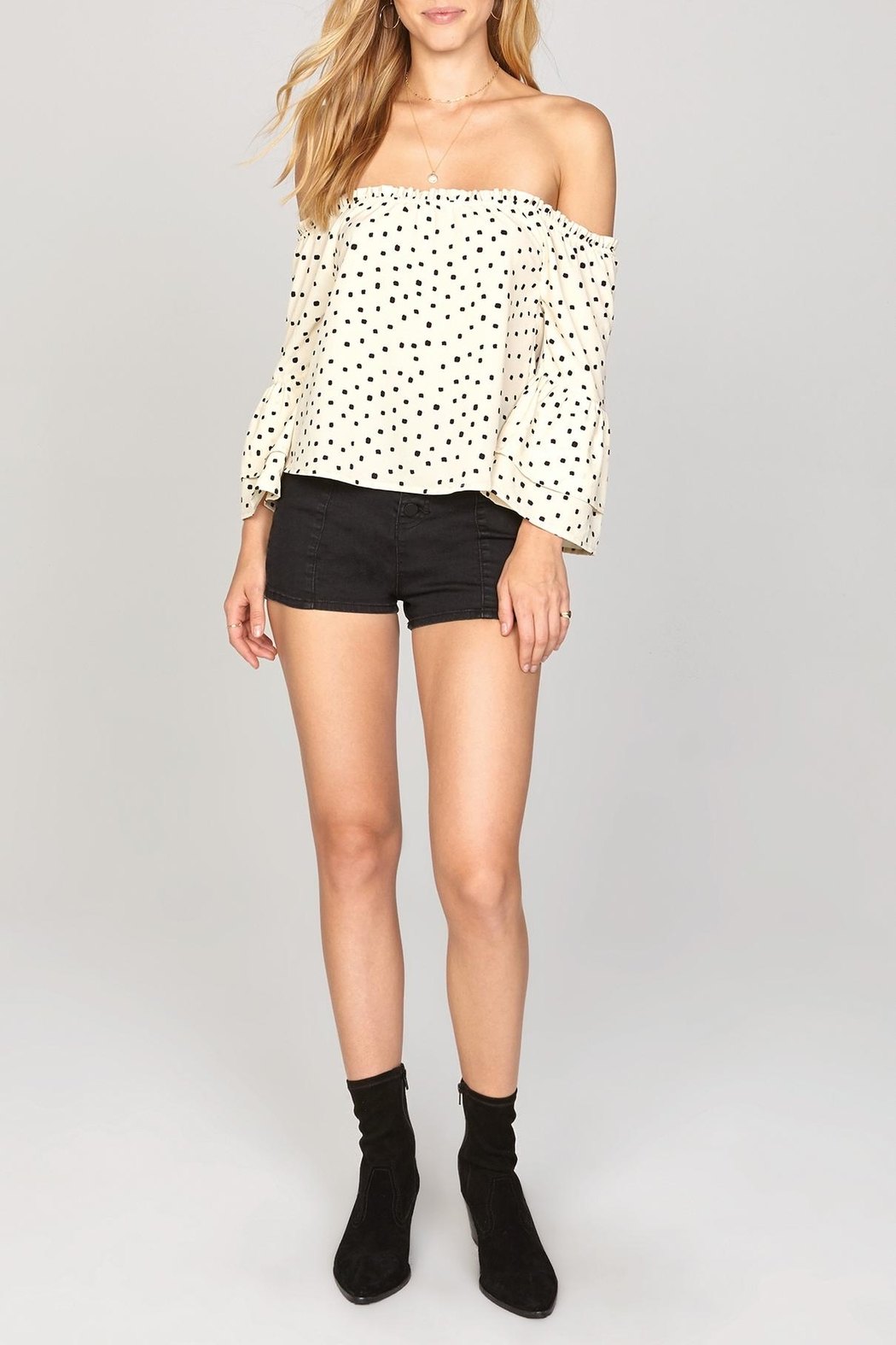 AMUSE SOCIETY Chapelle Off Shoulder - Side Cropped Image