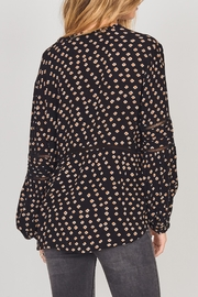AMUSE SOCIETY Chateau Woven Top - Front full body