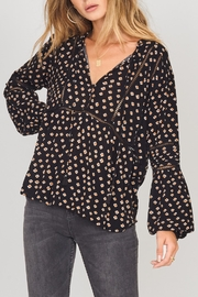AMUSE SOCIETY Chateau Woven Top - Front cropped
