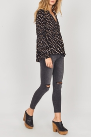AMUSE SOCIETY Chateau Woven Top - Side cropped