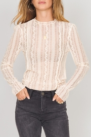 AMUSE SOCIETY Cream Lace Knit - Product Mini Image