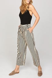 AMUSE SOCIETY Cropped Stripe Trouser - Product Mini Image