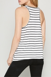 AMUSE SOCIETY Davis Stripe Tank - Front full body