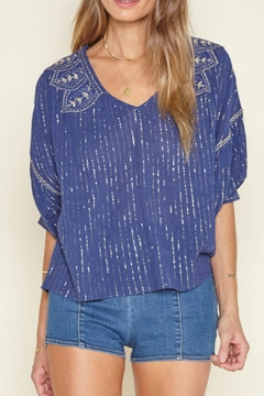 Shoptiques Product: Embellished Woven Top