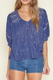 AMUSE SOCIETY Embellished Woven Top - Product Mini Image