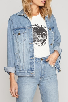 AMUSE SOCIETY Emroidered Denim Jacket - Product List Image