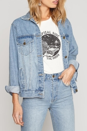 AMUSE SOCIETY Emroidered Denim Jacket - Product Mini Image