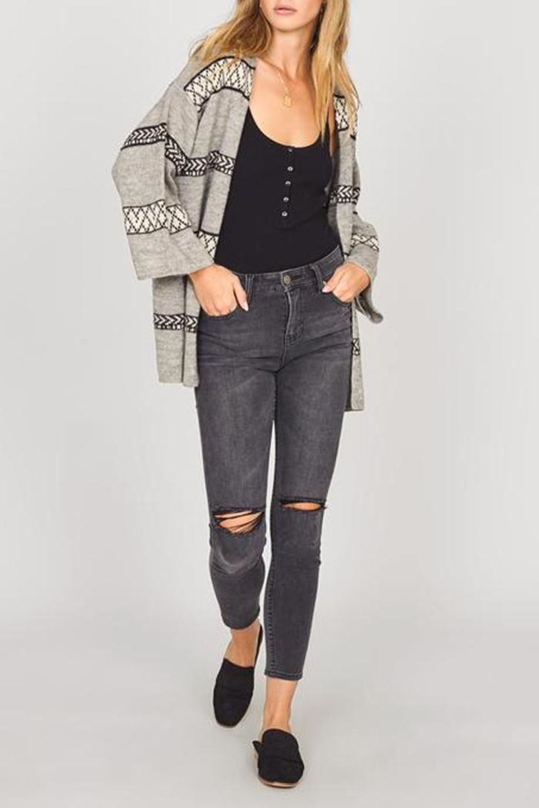 AMUSE SOCIETY Everyday Adventure Sweater - Side Cropped Image