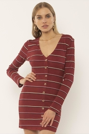 AMUSE SOCIETY Fitted Button-Down Dress - Product Mini Image