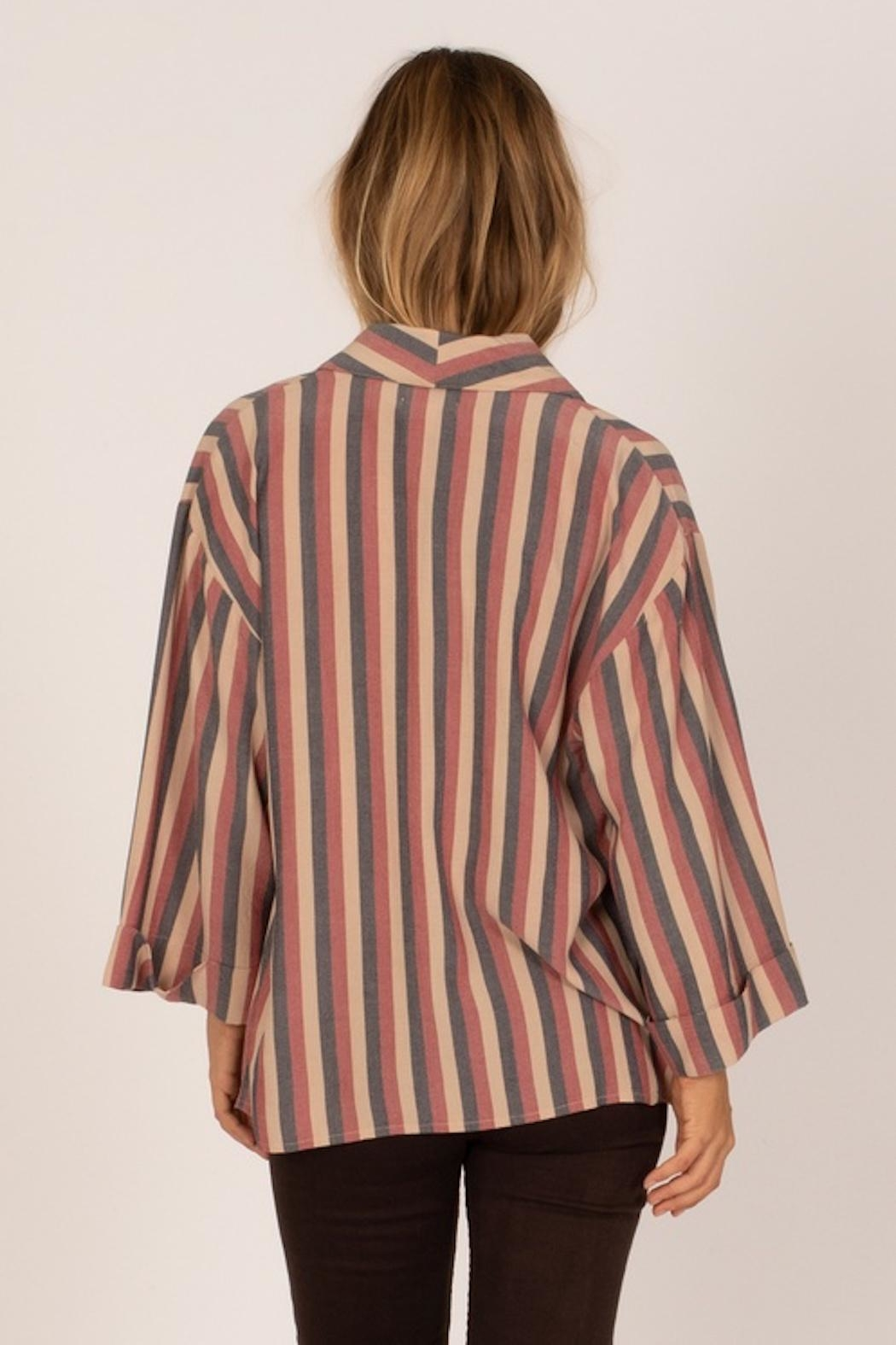 AMUSE SOCIETY Fresco Woven Top - Front Full Image