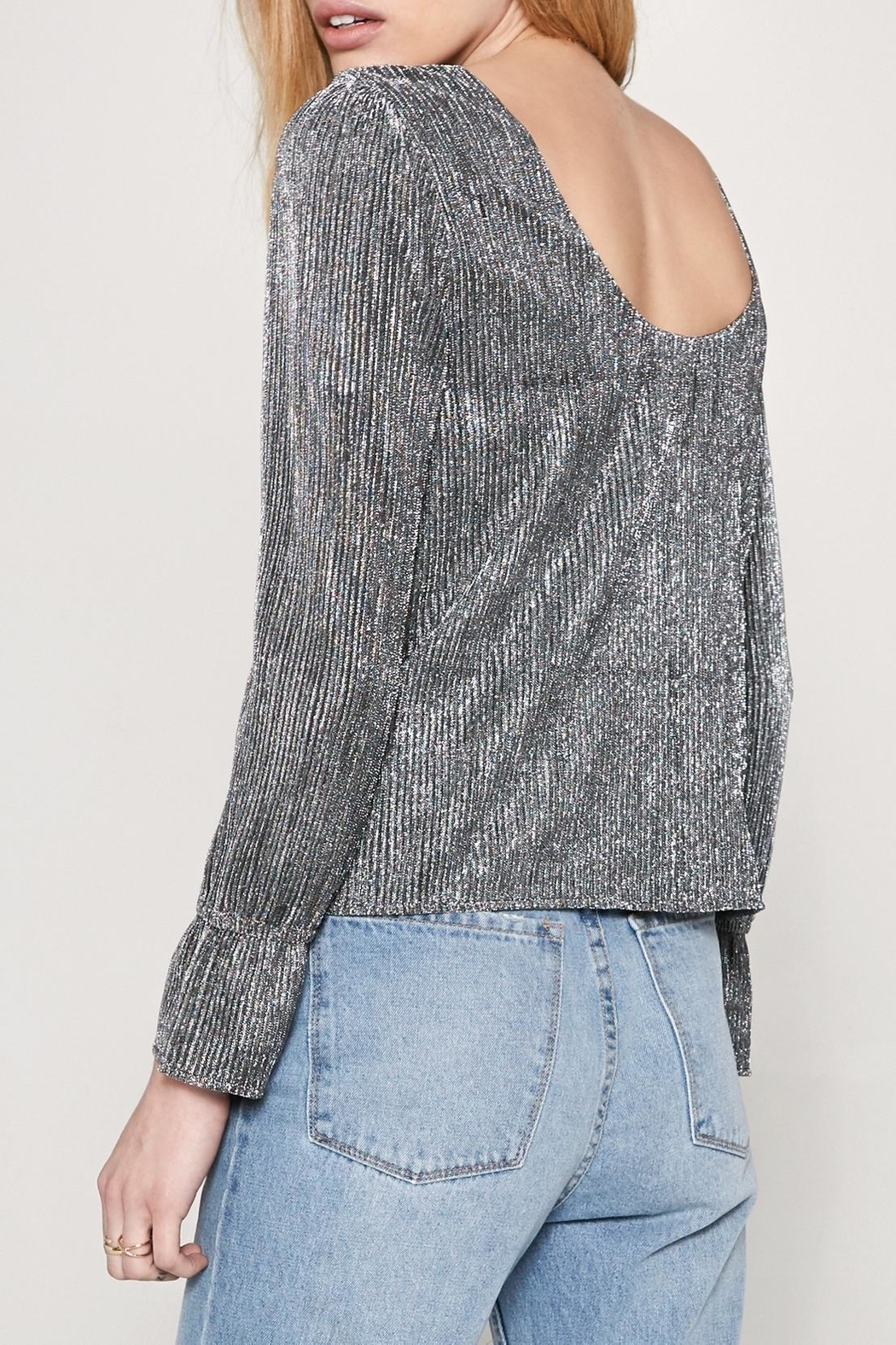 AMUSE SOCIETY Glimmer Top - Front Full Image