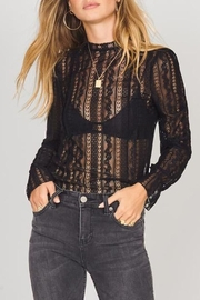 AMUSE SOCIETY Lacey Love Top - Front cropped